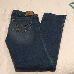 HOLLISTER jeans sz 7 reg
